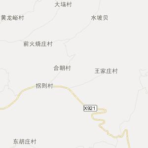 山西旅游地图 晋中旅游地图
