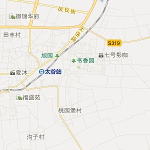 山西交通地图 晋中交通地图