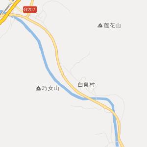 晋中和顺交通地图_和顺在线高清交通图查询