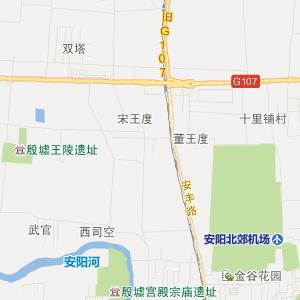 安阳市北关区高清旅游地图