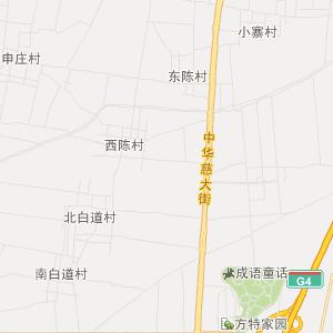 河北旅游地图 邯郸旅游地图