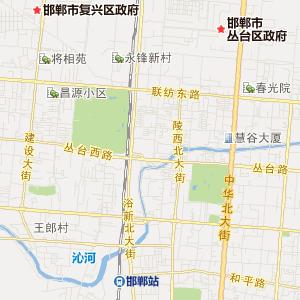 复兴区石化街道交通地图图片