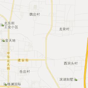 邯郸市永年县高清交通地图