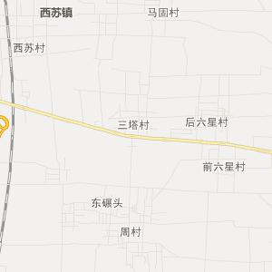 邯郸市永年县交通地图