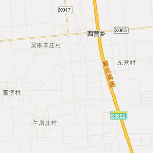 栾城飞机场位置