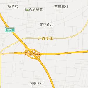 永年县姚寨乡在线交通地图实用查询