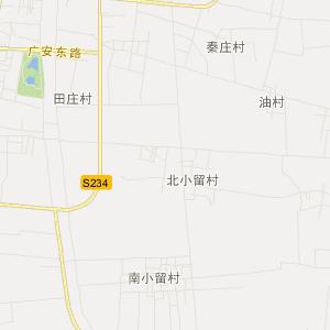 广平县广平镇交通地图图片