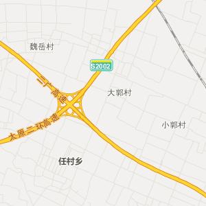 山西省旅游地图 晋中市旅游地图