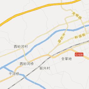 繁峙砂河交通地图_中国电子地图网图片