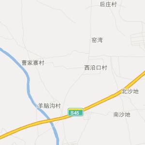 繁峙砂河旅游地图_中国电子地图网图片