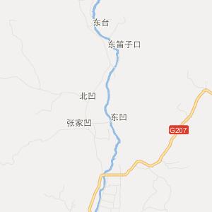 河北省旅游地图 保定市旅游地图