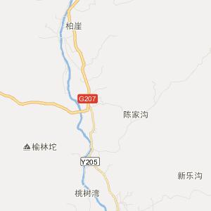 阜平县史家寨乡旅游地图图片