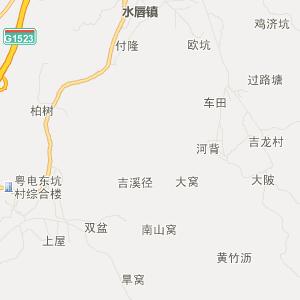 = 汕尾陆河交通地图 =