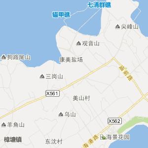 福建交通地图 漳州交通地图