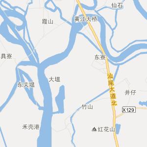 海丰联安交通地图