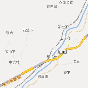 福建交通地图 龙岩交通地图