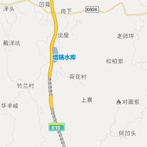 永定县湖雷镇高清交通地图_湖