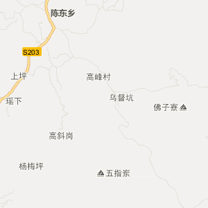 永定县陈东乡旅游地图查询