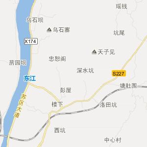 东莞到桂林地图