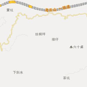 到信丰铁路地图