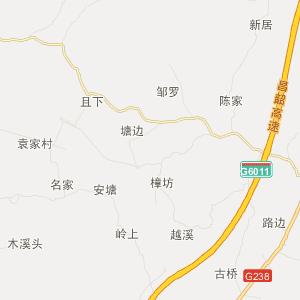 丰城荷湖交通地图_中国电子地图网