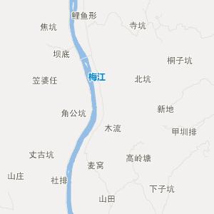 江西交通地图 赣州交通地图
