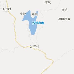 福建省旅游地图 三明市旅游地图