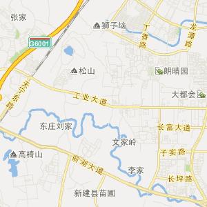 新建望城交通地图_望城在线交通图