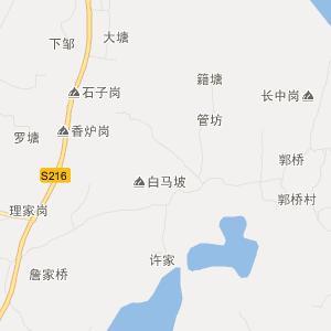 丰城上塘交通地图_中国电子地图网