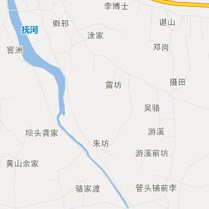 南昌塔城交通地图_中国电子地图网