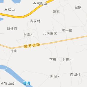青岛即墨东乡地图