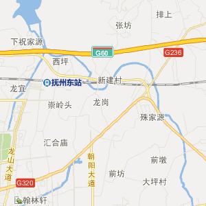 东乡圩上桥交通地图_中国电子地图网