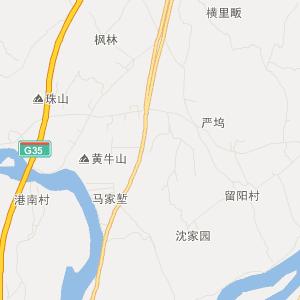 昌江荷塘交通地图
