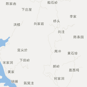 湖北旅游地图 黄冈旅游地图