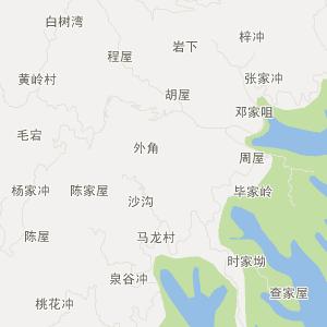 太湖县汤泉乡旅游地图