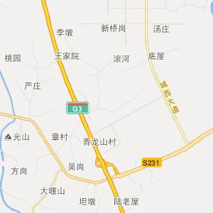 巢湖庐江旅游地图_中国电子地图网