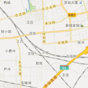 肥东撮镇交通地图_中国电子地图网图片