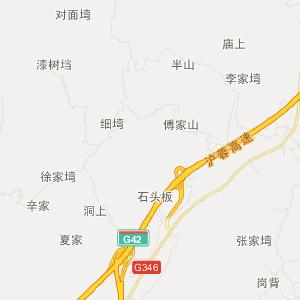 武汉至金寨地图
