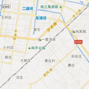 安徽省阜阳市旅游地图
