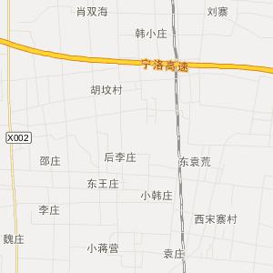 安徽省旅游地图 亳州市旅游地图