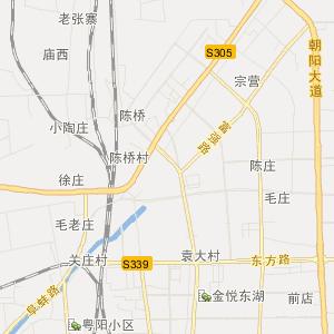 安徽省阜阳市旅游地图图片