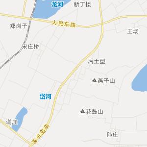 安徽淮北交通地图_淮北在线交通图图片