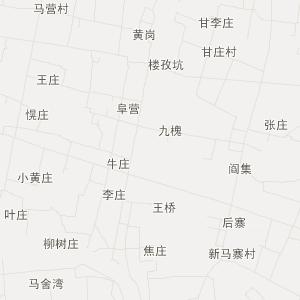 湖北地图 按区域