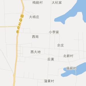 怀远县马城镇旅游地图