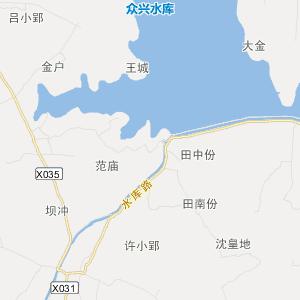 肥东县众兴乡旅游地图图片