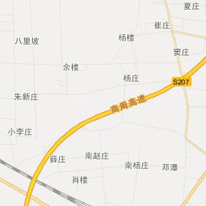梁园区建设街道旅游地图图片