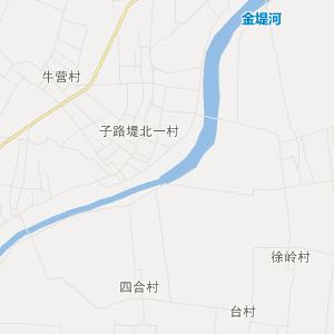 台前县侯庙镇旅游地图