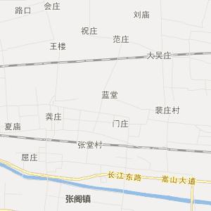 梁园区平台镇交通地图