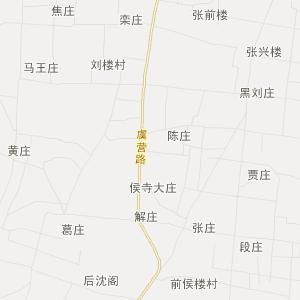 梁园区周集乡交通地图图片