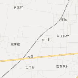 郓城双桥旅游地图